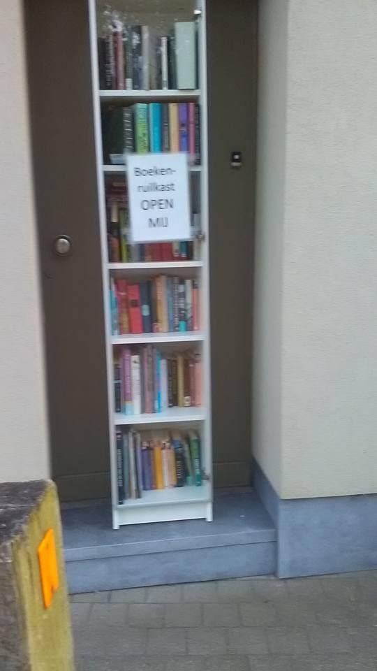 Boekenruilkast Nieuwkerke-Waas