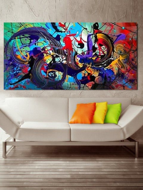 Graffiti Print Unframed Canvas Paintings Cheap Canvas Wall Art Canvas Painting Art Canvas Panels