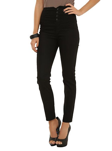Rock Steady Black High As Life Pants | Hot Topic