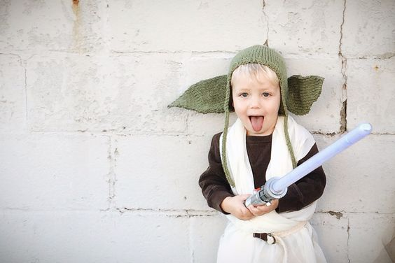 #starwars #halloween #dyi #yoda #costume
