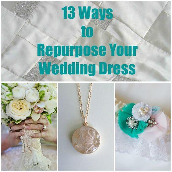 13 Ways To Repurpose Your Wedding Dress Wednesday