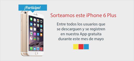 Sorteo iPhone 6 Plus 4 G gama oro