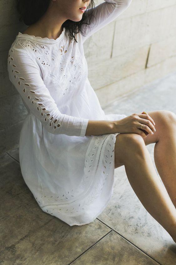 Bonheur 'Serenite'lace dress: