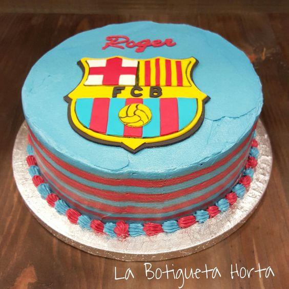 Pastel Barça