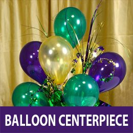 Air filled balloon centerpiece wreath ideas pinterest for Air filled balloon decoration ideas
