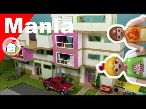 Playmobil Deutsch Die Mega Luxusvilla Von Familie Hauser Playmomania Youtube Playmobil Play Mobile Luxus Villa