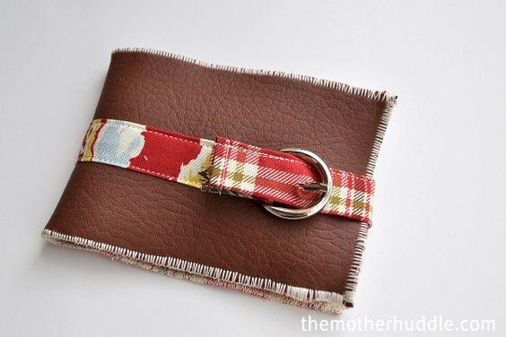 DIY: Little Man Wallet #tutorial #sewing