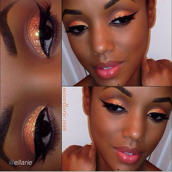 Makeup maquillaje lindo piel obscura