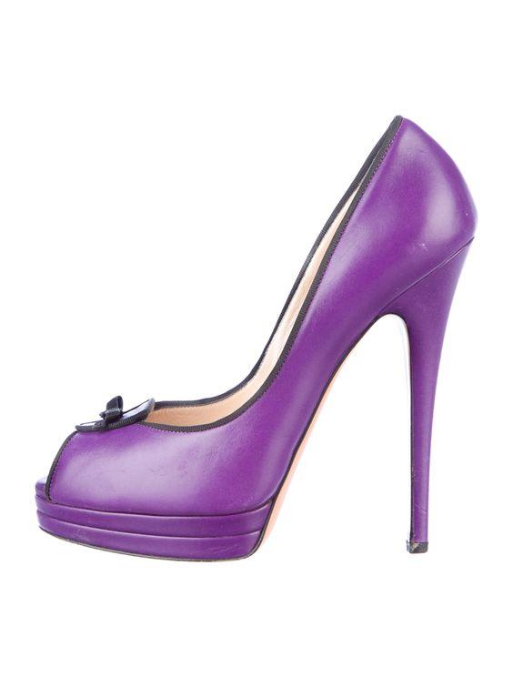 CASADEI PUMPS  #purple $145.00 size 8