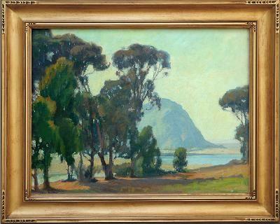 "Aaron Kilpatrick (1872-1953) Morro Bay O/C, 24"" x 30"""