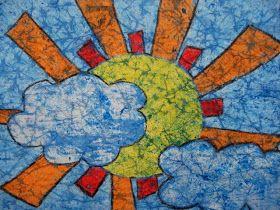 a faithful attempt: Wax Crayon Batik
