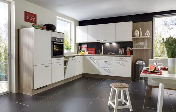 nobilia Küchen - keukens - nobilia Produkte Hölzer - küche ohne elektrogeräte