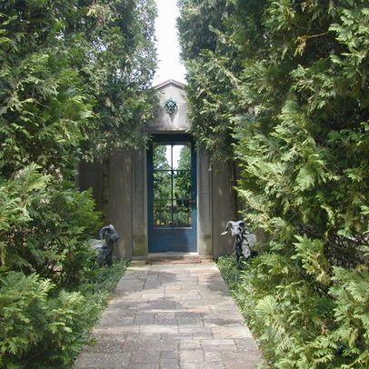 Stucco Garden Walls Design Ideas Pictures Remodel and