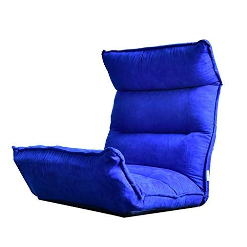 Chairs Home Kitchen Furniture Living Room Furnitur Meditation Blue Sofa Balcony Lazy Sofa Lounge Tatami Foldable Bedroom Small Sofa Of Lounge Sofa Small Sofa Furniture