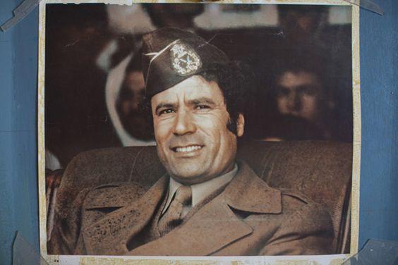 Exploring Colonel Muammar Gaddafi's photography archives