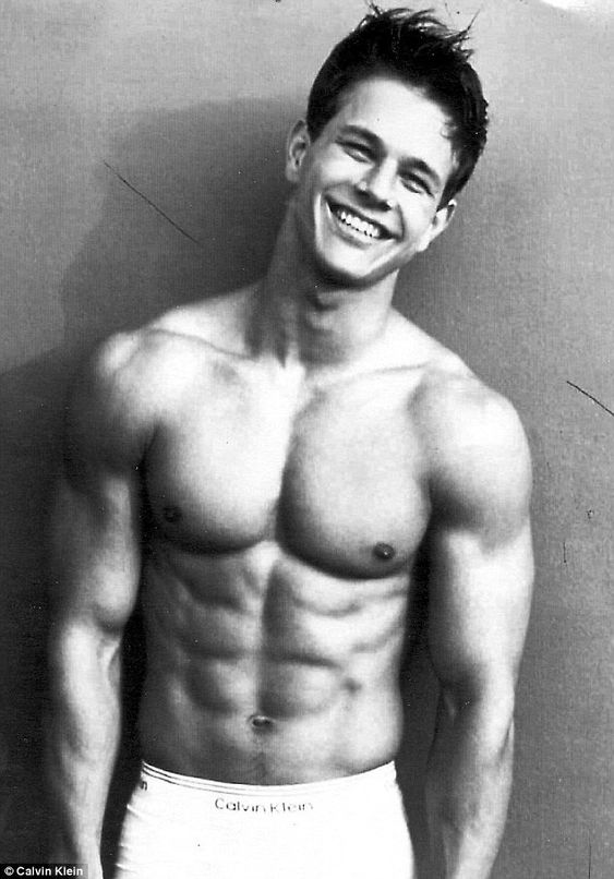 I have a crush on Marky Mark for a good 15 years.  & my fiance' is okay with it.