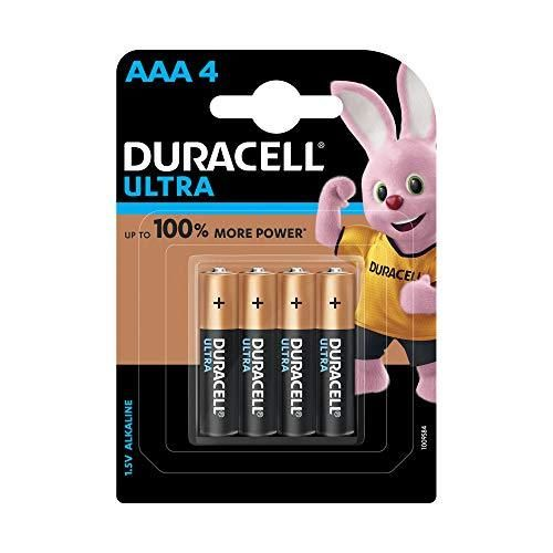 Duracell Ultra Alkaline Aaa Battery 4 Pieces Duracell Battery Pack Alkaline