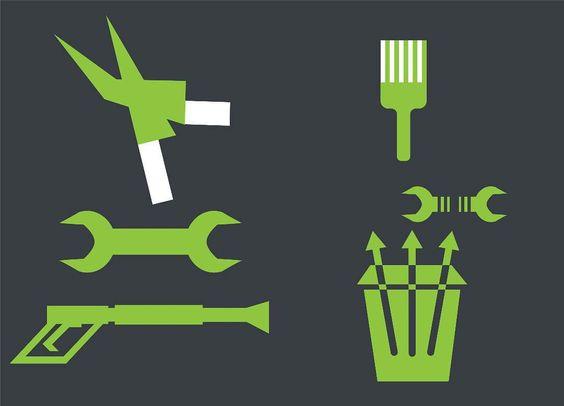 Home Tools - Free Illustrator Vector Download