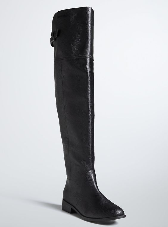 Plus Size Wide Calf Over The Knee Tall Boots (Wide Width &amp Wide