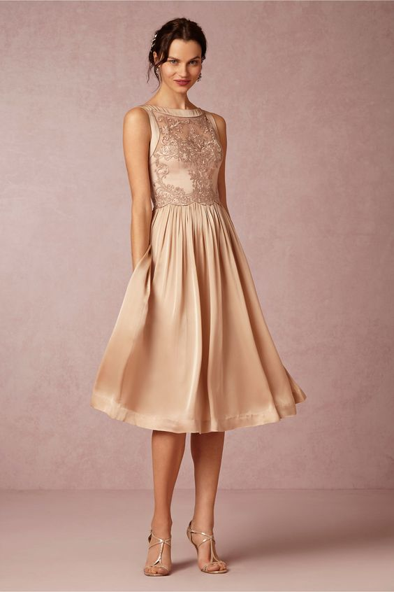 8 vestidos de novia cortos para tu civil