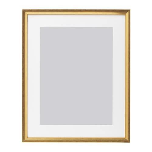 Silverhojden Frame Gold 12x16 Ikea In 2020 Gold Frame Gallery Wall Gallery Wall Frames Gold Gallery Wall