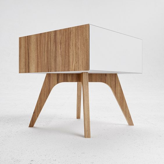 H1 bedside table design bureau odesd2 house for Table bureau design