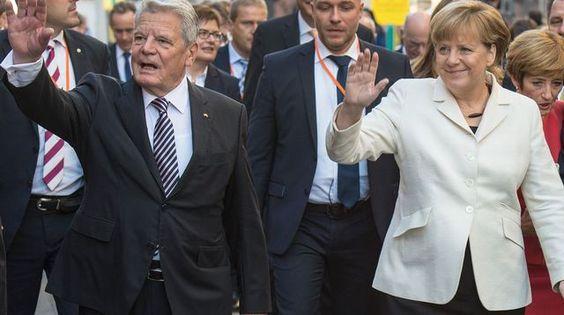 L'Allemagne fête les 25 ans de sa réunification