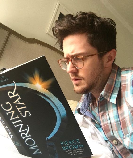 Morning Star by Pierce Brown - Photo by @piercebrownofficial on Instagram - The 14 Most Anticipated YA Books to Read in February
