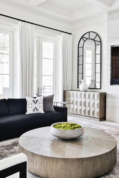 Inside The Modern Toronto Home Tour That Screams Chic Living Room Mirrors Living Room Diy Living Room Interior