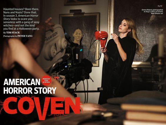 Emma Roberts - Entertainment Weekly - November 2013