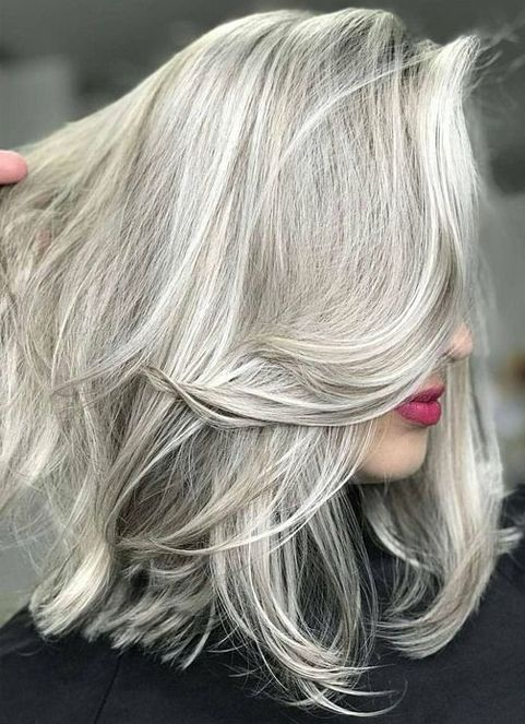 Perfect Platinum White Silver Hair Color Ideas for Spring ...