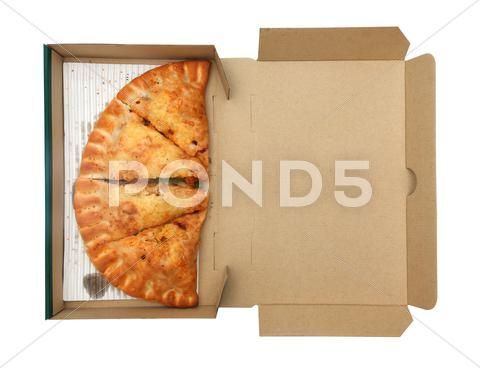 Pizza Calzone In Box Stock Photos Ad Calzonepizzabox