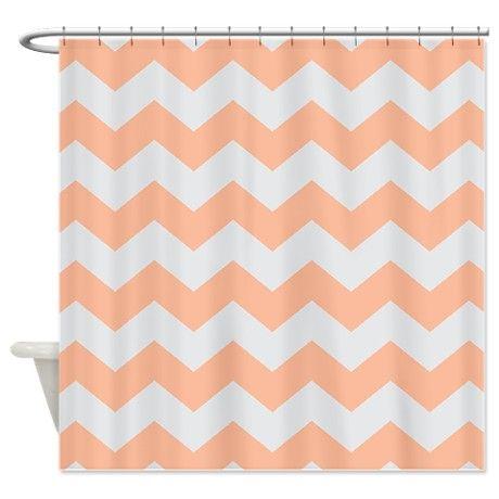 Curtains Ideas chevron stripe shower curtain : Shower curtains, Gray chevron and Curtains on Pinterest