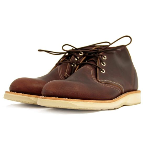 Red Wing Chukka Boot 3141 Burgundy