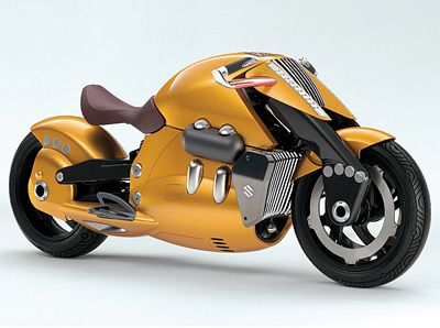 Suzuki Biplane Concept Bike 2010 Stylish 2 Wheelers