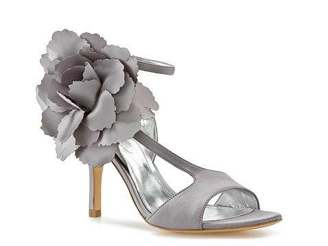 (in ivory) in love: Bridesmaid Shoes, Antoinette Sandal, Grey Shoe