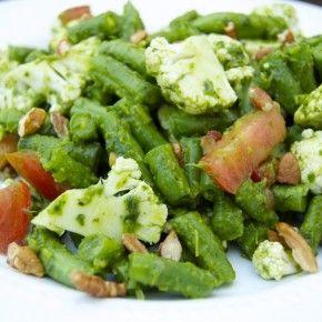 pesto salad salad 2 and more green bean salads green beans bean salads ...