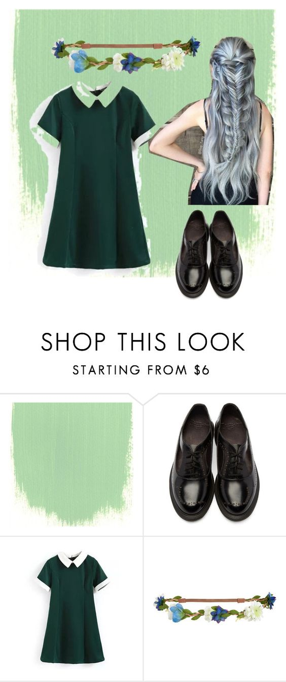 """Untitled #5"" by candyzari ❤ liked on Polyvore featuring Dr. Martens, Aéropostale, cutecardigan and springlayers"