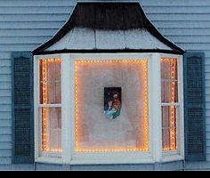Window Wonder Frame Kit for Miniature Christmas Lights 4 Rod Pack 184911840   eBay