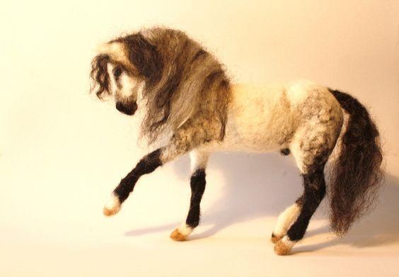 minzoo needle horse andalusian