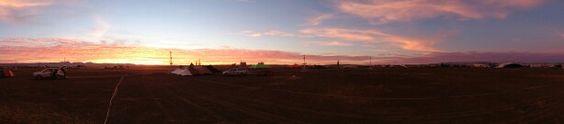Big, BIG sky country. Afrikaburn 2014.