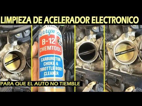 Como Limpiar Cuerpo De Aceleracion Electronico Para Que El Auto