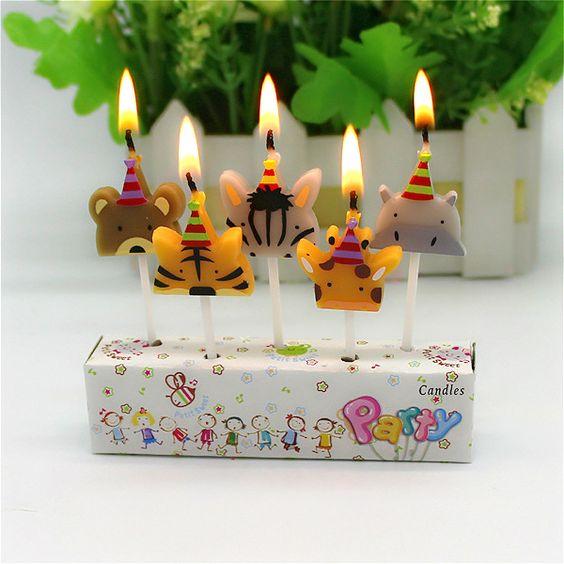 Birthday-Animal-Candles-Party-Decoration-Fish-Cat-Lion-Frog-Panda-Rabbit-Robot-Candle.jpg (600×600)