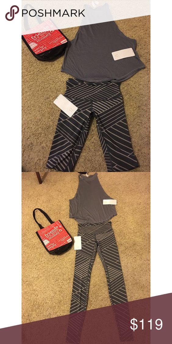 Lululemon Top & Pants Bundle. LABOR DAY SPECIAL SALE‼️ Pants are size 4. Top size 8. lululemon athletica Pants Leggings