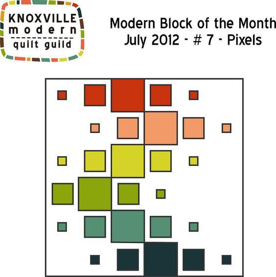 KMQG BOM - Block 7 - Pixels   Flickr - Photo Sharing!