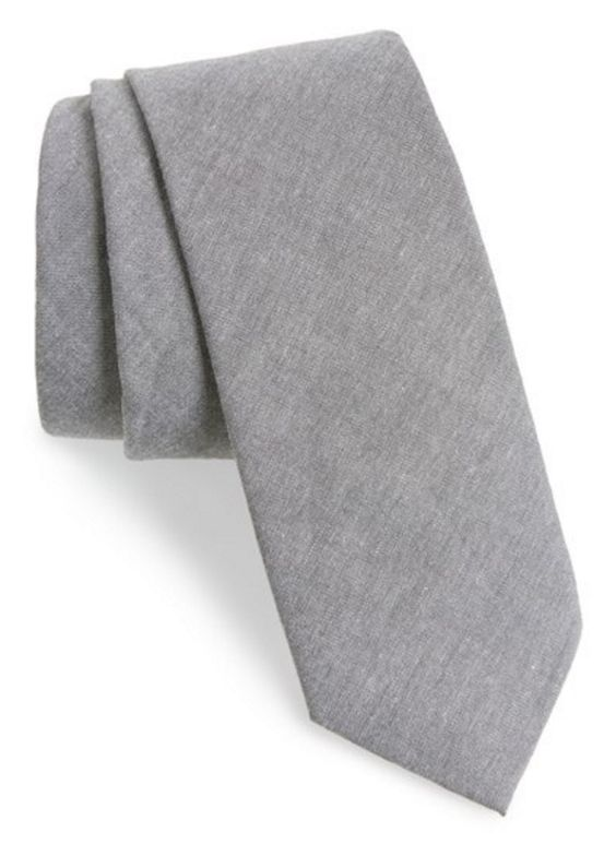 Tucci French Gray Tie