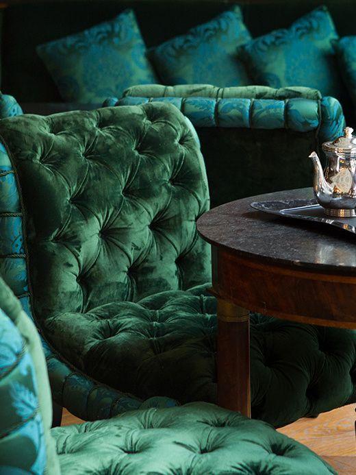 D'une élégance impeccable, c'est la dernière création tout en fastes du décorateur-star Jacques Garcia.: