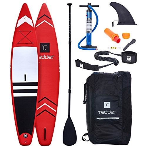 Inflatable Stand Up Paddle Board Nova 12 6 X 31 X 6 Touring Isup With Bravo Sup3 Double Action Hand Pump 3 Piece Carbo Standup Paddle Paddle Boarding Paddle