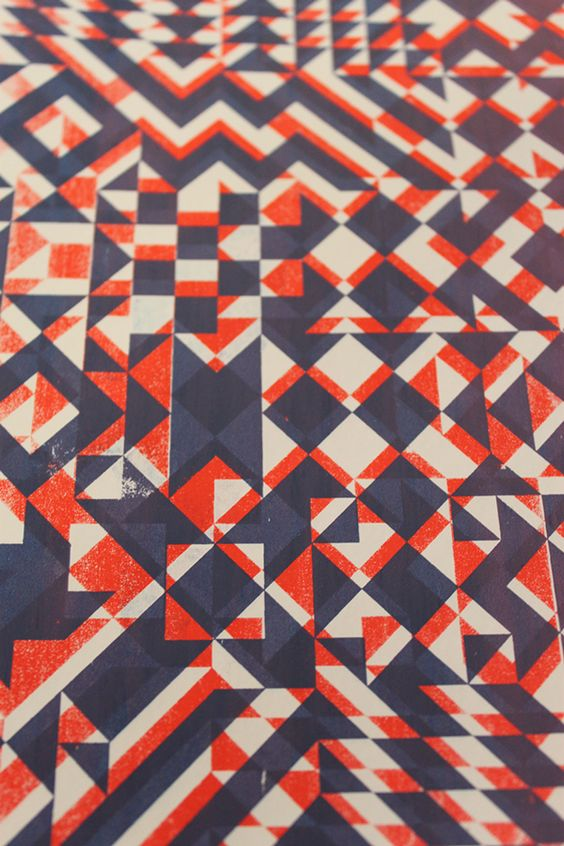 Pattern Design on Student Show