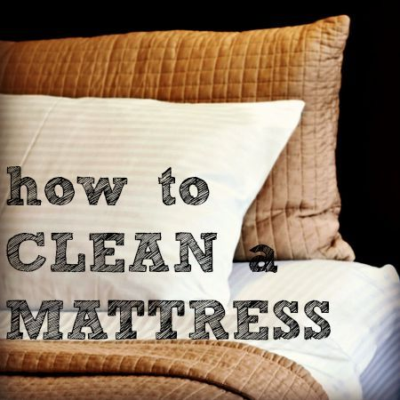 how to get rid of old mattress stains